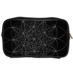 Sacred Geometry Music 144links Toiletries Bags 2 Side by Cveti
