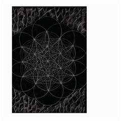 Sacred Geometry Music 144links Large Garden Flag (two Sides) by Cveti