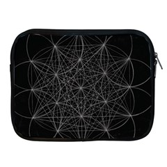 Sacred Geometry Music 144links Apple Ipad 2/3/4 Zipper Cases by Cveti
