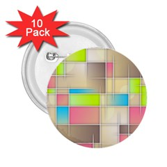 Background Abstract Grid 2 25  Buttons (10 Pack)