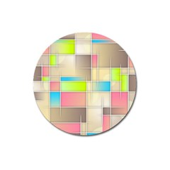 Background Abstract Grid Magnet 3  (round)