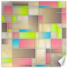 Background Abstract Grid Canvas 16  X 16   by Nexatart
