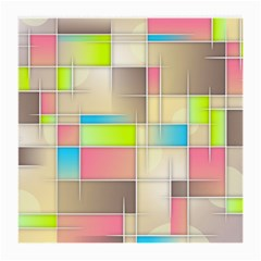 Background Abstract Grid Medium Glasses Cloth (2 Side)