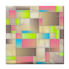 Background Abstract Grid Face Towel