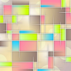Background Abstract Grid Magic Photo Cubes