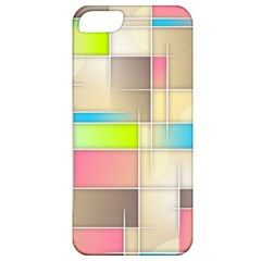 Background Abstract Grid Apple Iphone 5 Classic Hardshell Case