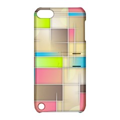 Background Abstract Grid Apple Ipod Touch 5 Hardshell Case With Stand