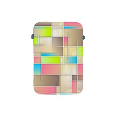 Background Abstract Grid Apple Ipad Mini Protective Soft Cases