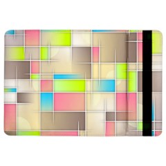 Background Abstract Grid Ipad Air 2 Flip