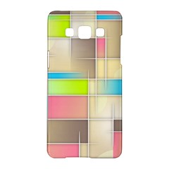 Background Abstract Grid Samsung Galaxy A5 Hardshell Case