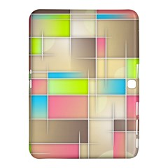 Background Abstract Grid Samsung Galaxy Tab 4 (10 1 ) Hardshell Case