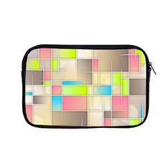 Background Abstract Grid Apple Macbook Pro 13  Zipper Case by Nexatart