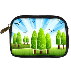 Landscape Nature Background Digital Camera Cases