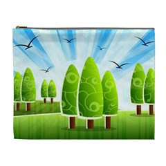 Landscape Nature Background Cosmetic Bag (xl)