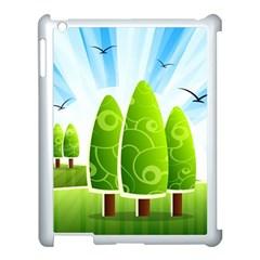Landscape Nature Background Apple Ipad 3/4 Case (white)
