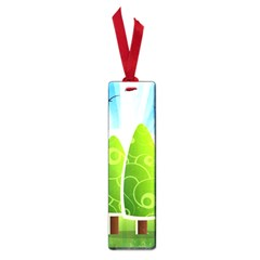 Landscape Nature Background Small Book Marks