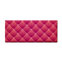 Pink Background Geometric Design Cosmetic Storage Cases