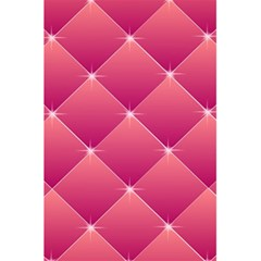 Pink Background Geometric Design 5 5  X 8 5  Notebooks