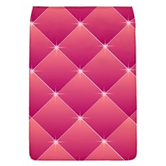 Pink Background Geometric Design Flap Covers (s)