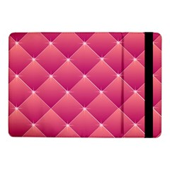 Pink Background Geometric Design Samsung Galaxy Tab Pro 10 1  Flip Case