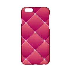 Pink Background Geometric Design Apple Iphone 6/6s Hardshell Case