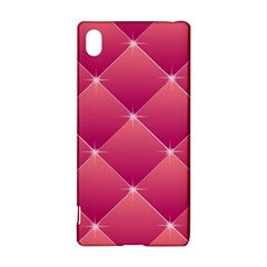Pink Background Geometric Design Sony Xperia Z3+