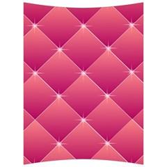 Pink Background Geometric Design Back Support Cushion