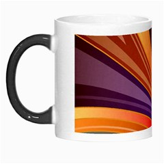 Abstract Colorful Background Wavy Morph Mugs