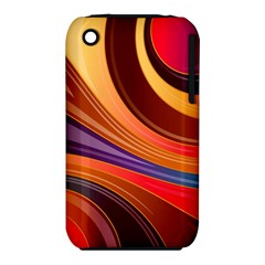 Abstract Colorful Background Wavy Iphone 3s/3gs