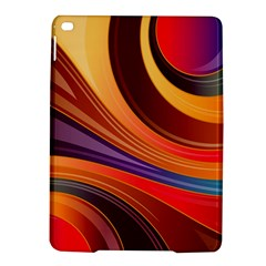 Abstract Colorful Background Wavy Ipad Air 2 Hardshell Cases