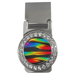 Colorful Background Money Clips (cz)