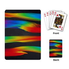 Colorful Background Playing Card