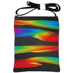 Colorful Background Shoulder Sling Bags
