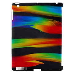 Colorful Background Apple Ipad 3/4 Hardshell Case (compatible With Smart Cover)