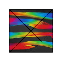 Colorful Background Acrylic Tangram Puzzle (4  X 4 )
