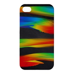 Colorful Background Apple Iphone 4/4s Premium Hardshell Case