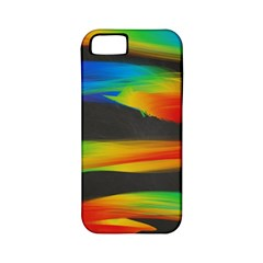 Colorful Background Apple Iphone 5 Classic Hardshell Case (pc+silicone)