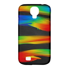 Colorful Background Samsung Galaxy S4 Classic Hardshell Case (pc+silicone)