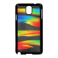Colorful Background Samsung Galaxy Note 3 Neo Hardshell Case (black)