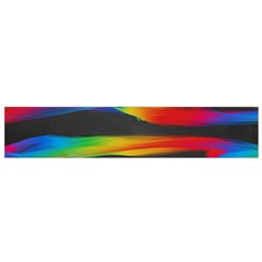 Colorful Background Small Flano Scarf