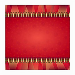Background Red Abstract Medium Glasses Cloth