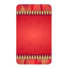 Background Red Abstract Memory Card Reader