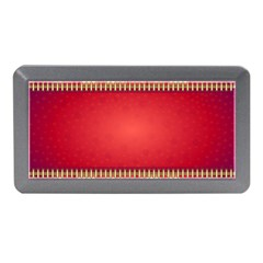 Background Red Abstract Memory Card Reader (mini)