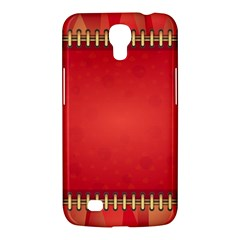 Background Red Abstract Samsung Galaxy Mega 6 3  I9200 Hardshell Case