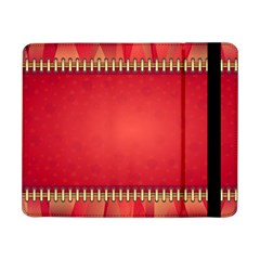 Background Red Abstract Samsung Galaxy Tab Pro 8 4  Flip Case