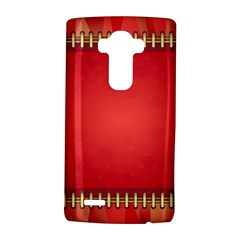 Background Red Abstract Lg G4 Hardshell Case