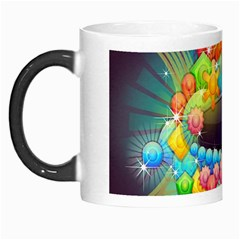 Badge Abstract Abstract Design Morph Mugs