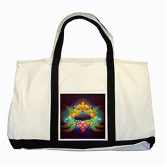 Badge Abstract Abstract Design Two Tone Tote Bag