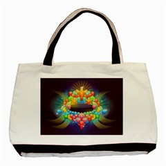 Badge Abstract Abstract Design Basic Tote Bag (two Sides)