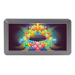 Badge Abstract Abstract Design Memory Card Reader (mini)